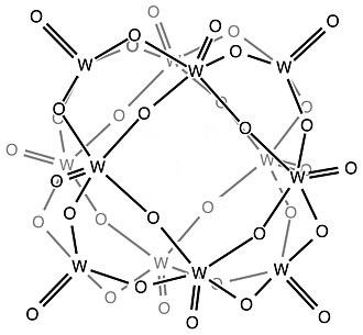 Keggin structure - Cage of the Keggin structure