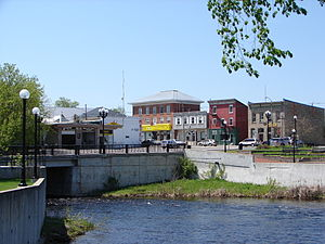 Kemptville - Kemptville and the Kemptville Creek