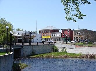Kemptville - Kemptville and the Kemptville Creek