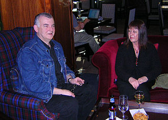 Ken MacLeod - Ken and Carol MacLeod at Boskone 43, 2006.