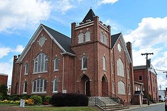 First Baptist Church (Kernersville, North Carolina) - Church in 2013