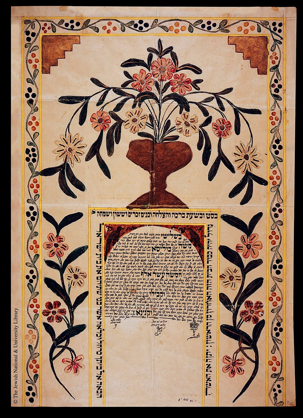 Ketubah from Syria2