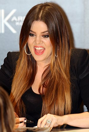 English: Khloe Kardashian Get David Jones Till...