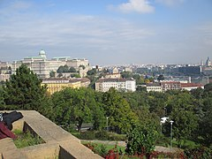 The Buda Castle from Gellért Hill