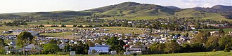 Killarney, Queensland - View of Killarney from the south