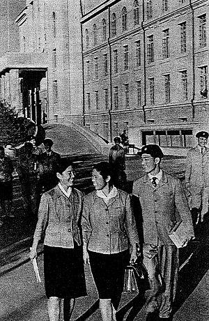 Kim Il-sung University - Kim Il-sung University, c. 1960