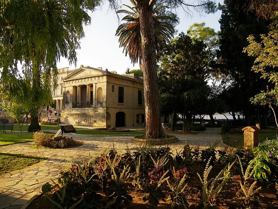 Kipos tou Laou in Corfu
