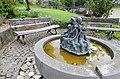 Kirchsahr (Eifel); Brunnen an der Kirche a.jpg