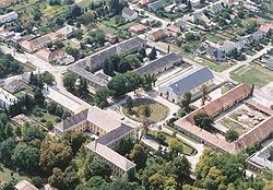 Aerialphotography of Kisbér
