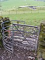 Kissing gate near Capel Garmon chambered tomb - geograph.org.uk - 1375849.jpg