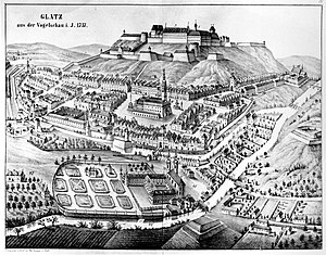 Kłodzko Land - City and fortress of Kladsko (1737)