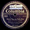 Kleiner Boy aus Portorico v. Walter Jenson, Orchester Willi Stanke, Berlin 1947.jpg