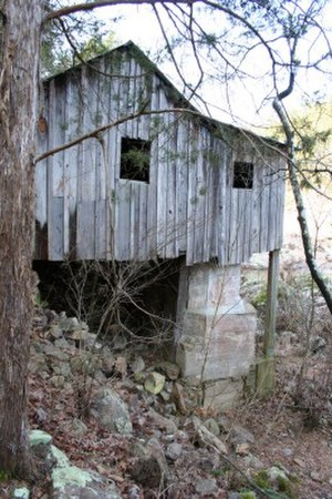 National Register of Historic Places listings in Shannon County, Missouri - Image: Klepzig Mill MO NPS