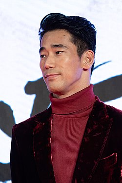 "Kobayashi Naoki from ""Earthquake Bird"" at Opening Ceremony of the Tokyo International Film Festival 2019 (49013515833).jpg"