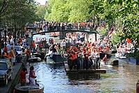 Koninginnedag 2007 in Amsterdam