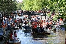 Festivités lors du Koninginnedag