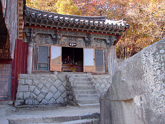 Sansin - The sanshingak of Beomeosa, Busan