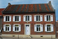Dubbelhuis, afspanning uit 1822, Kortrijk-Dutsel