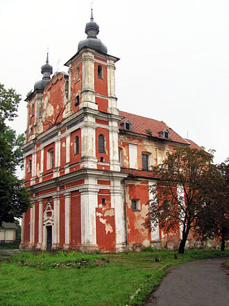 Dubrovytsia - A catholic church in Dubrovytsia