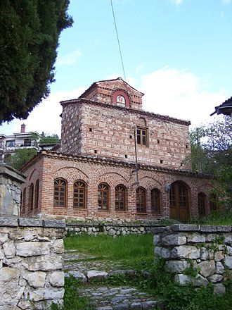Kastoria - The church of St. Stephanos (10th c.), Paleologou Street