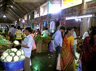 Koyambedu - A view of the Koyambedu Market