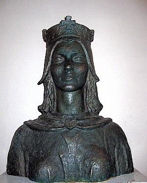 Helen of Zadar - Bust of Queen Helen, Solin (artists's impression)