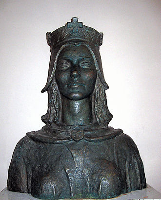 Helen of Zadar - Bust of Queen Helen, Solin (artist's impression)