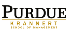Logo of the Krannert School of Management