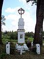 Krasnobród - krzyż-kapliczka przydrożna - DSC03843 v1.jpg