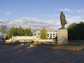 Place Optikov à Krasnogorsk.