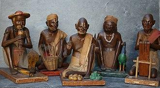 Krishnanagar, Nadia - A piece of work at ghurni