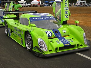 Krohn Racing - The Proto-Auto Lola at the 2008 Grand-Am round at New Jersey Motorsports Park