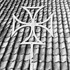 kruis op zuidportaal - batenburg - 20028277 - rce