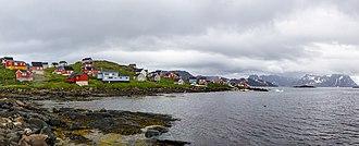 Kulusuk - The village during August 2018