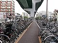 Kurokawa R41 Cycle Parking Area 20131031.JPG