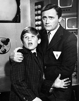 "The Man from U.N.C.L.E. - Vaughn and a young Kurt Russell in ""The Finny Foot Affair"""
