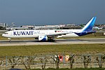 Kuwait Airways, 9K-AOK, Boeing 777-369 ER (25082759537) (3).jpg