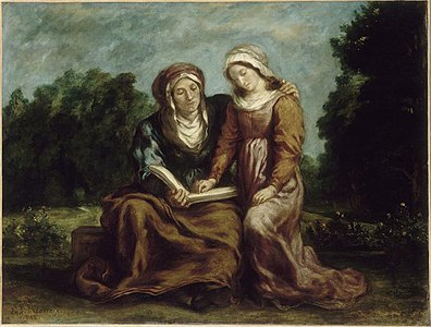 The Education of the Virgin (1842).