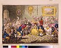 """L'assemblée nationale- - or - grand co-operation meeting at St. Ann's Hill. Respectfully dedicated to the admirers of """"A Broad-Bottom'd Administration"""" LCCN2005695709.jpg"""