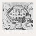 L'attaque d'un village Iroquois par Champlain, EC1931.png