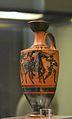 Lècit grec de figures negres, taller d'Atenes, museu de Ceràmica de València.JPG