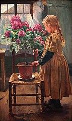 Gabrielle Frédéric, fille de l'artiste