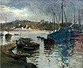 Léon Sonnier L'avant-port d'Audierne.jpg