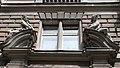 Löwy house (1894). Portal ornaments. - 33 Teréz Boulevard, Budapest.JPG