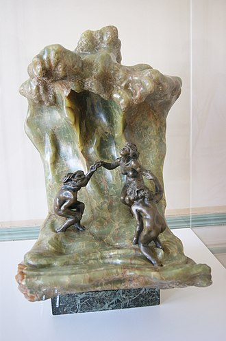 The Great Wave off Kanagawa - La Vague by Camille Claudel (1897)