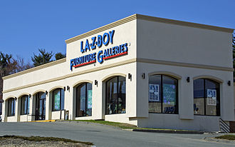 La-Z-Boy - La-Z-Boy Furniture Gallery Rt.1, Saugus, Massachusetts - 2001
