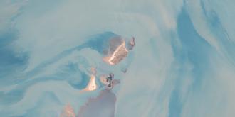 Quail Island (Northern Territory) - LANDSAT true color image of Quail Island Group, Northern Territory, Australia