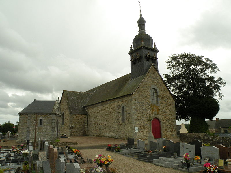 Saint-Joseph church in La Chapelle-aux-Filtzméens.