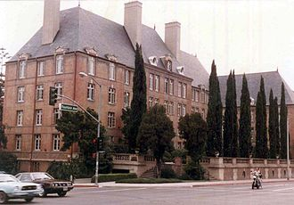 West Hollywood, California - La Fontaine Building (apartments) in 1982