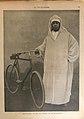 La Vie illustrée- Abd-el-Aziz, Sultan du Maroc, et sa bicyclette.jpg